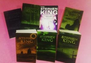 Der Dunkle Turm von Stephen King: Schwarz, Drei, Glas, tot., wolfsmond, Susannah, Der Turm