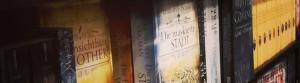 Foto der ausgestellten Bücher in der Mayerschen Buchhandlung in Duisburg