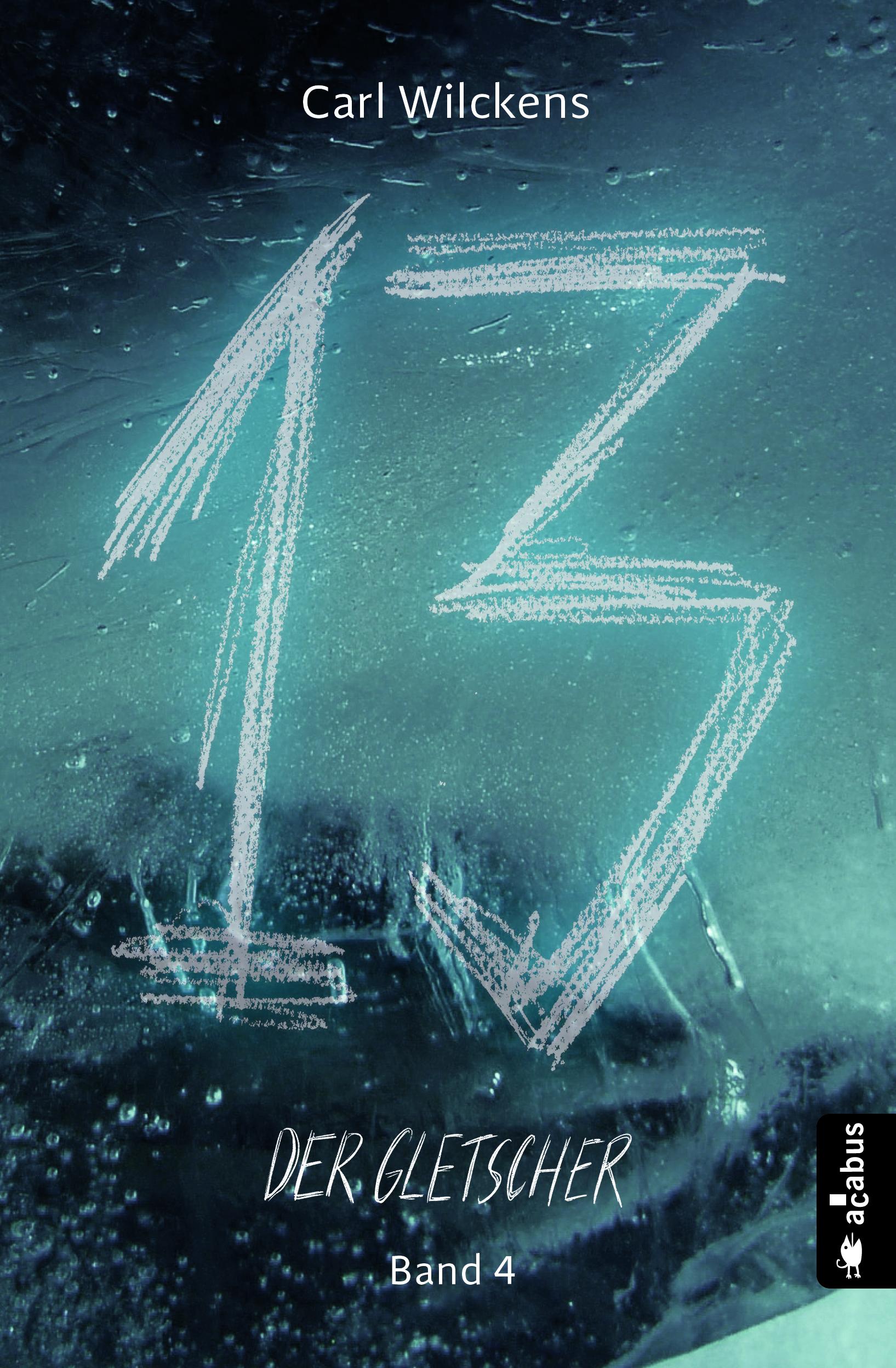 cover, dreizehn, der gletscher, dark fantasy